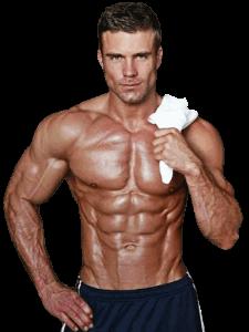 sportivo dopo allenamento - trattamento dianabol