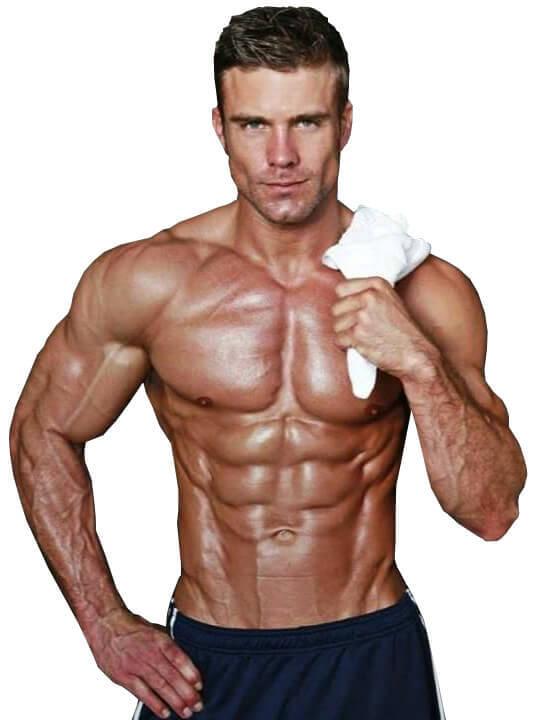 спортсмен после тренировки