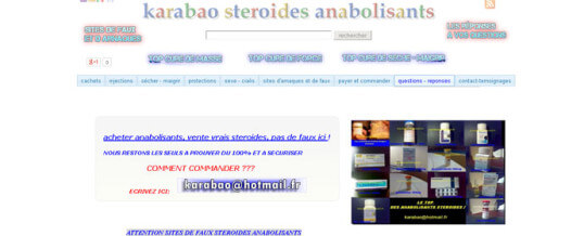 Karabao Anabolic Steroids Review
