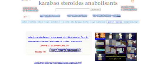 Sterydy anaboliczne Karabao-Recenzję